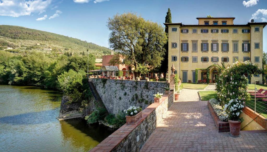Villa La Massa Außenansicht