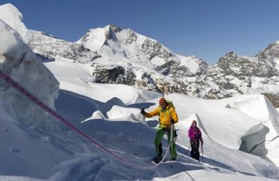 ENGADIN St. Moritz: Skitour auf den Piz Palue