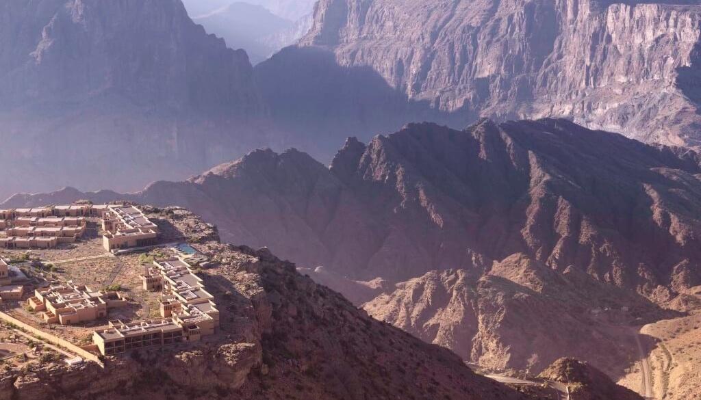 Neueröffnung im Gebirge Omans