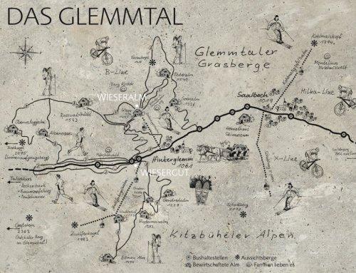 WIESERGUT_Landkarte_Das Glemmtal